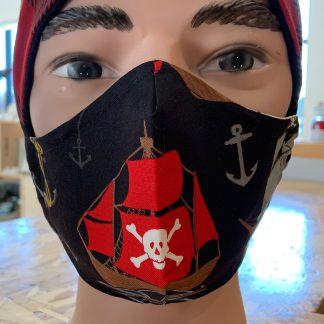 lune masque pirate