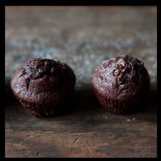 la pause magique mélange muffins double chocolat
