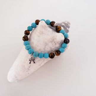 bracelet pierre de lave huile essentielle créations dominique