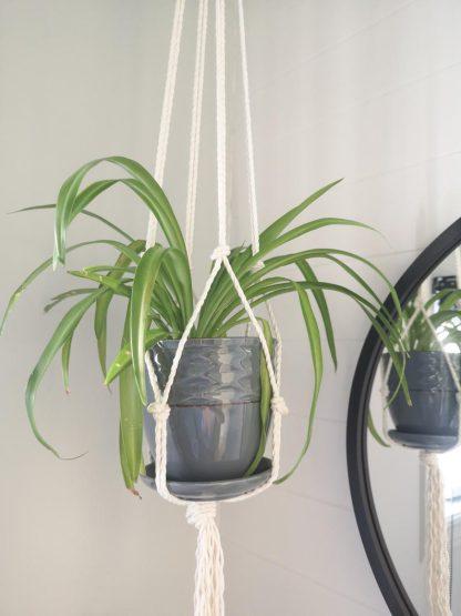 flora design - kit diy jardinière macramé