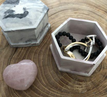 boîte à bijoux béton mimipots