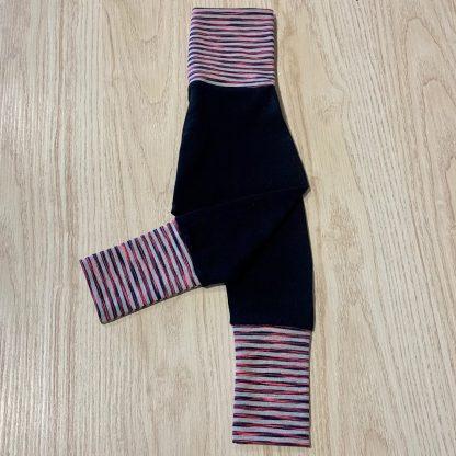 lune pantalon 6-18m lignes roses