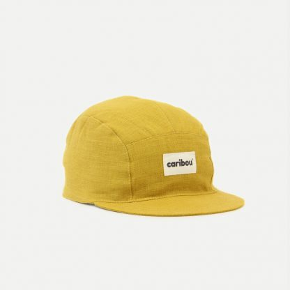 caribou casquette moutarde grand