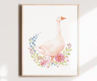 katrinn illustration carte sans texte l'oie blanche
