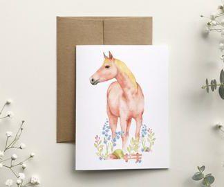 katrinn illustration carte cheval