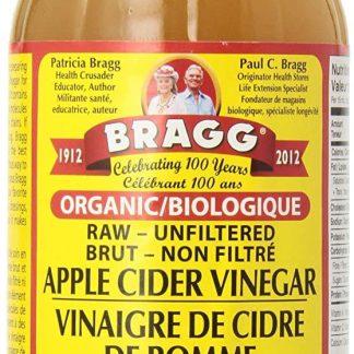 viniagre de cidre de pomme bragg 473 ml