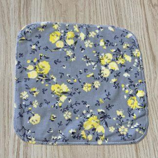lune linge de table fleurs