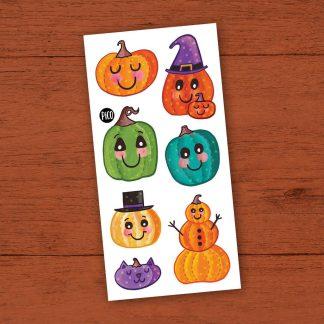 pico l'automne et ses belles citrouilles tatouage pico