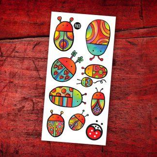 tatouages leucan coccinelles pico