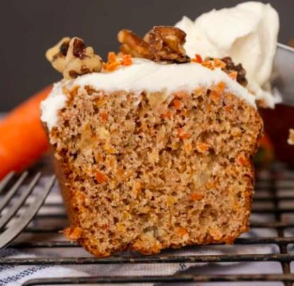 la pause magique mélange muffins carottes