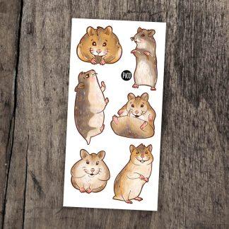 tatouage pico pooky hamster