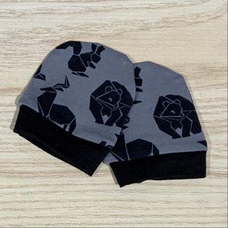lune mitaines animaux origami