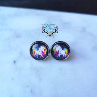 boucles d'oreilles cika licornes