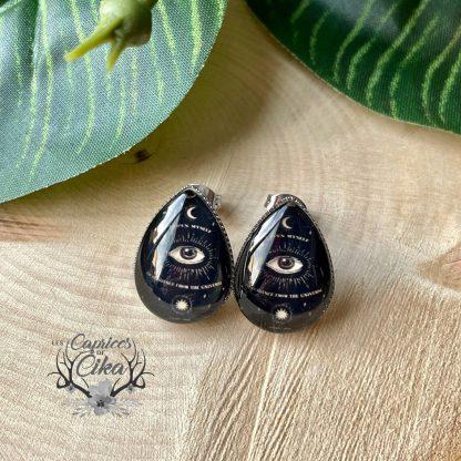 boucles d'oreilles sorcellerie cika