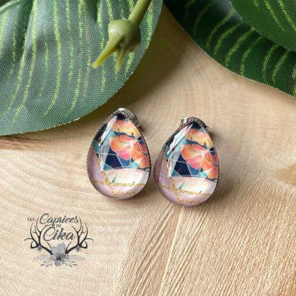 boucles d'oreille cika tropical
