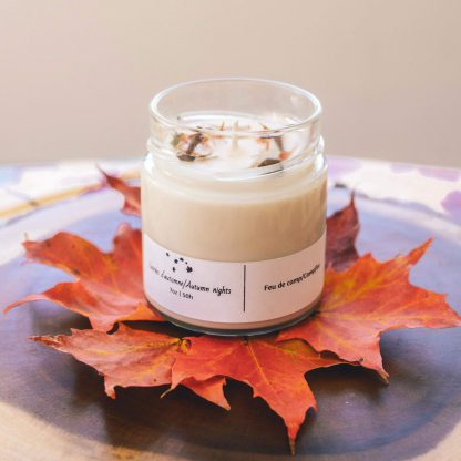 bougie nektar créations soirées d'automne