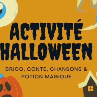 activité halloween enfants